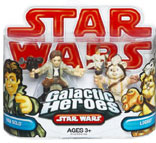 Galactic Heroes - Han Solo and Logray RED