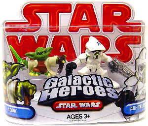 Galactic Heroes - Arf Trooper and Yoda RED