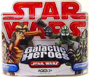 Galactic Heroes - Commander Gree and Tarfful RED
