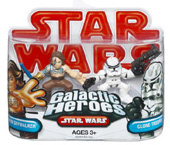 Galactic Heroes - Anakin Skywalker with Tattoo And Clone Trooper RED