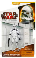 Clone Wars 2009 Red Packaging - Saga Legends - Clone Trooper