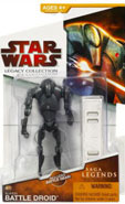 Clone Wars 2009 Red Packaging - Saga Legends - Super Battle Droid