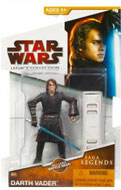 Clone Wars 2009 Red Packaging - Saga Legends - Anakin as Darth Vader