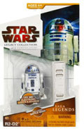 Clone Wars 2009 Red Packaging - Saga Legends - R2-D2