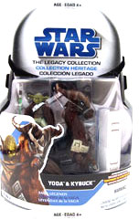 Clone Wars 2008 - Saga Legends - Yoda and Kybuck