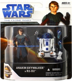 Clone Wars Movie 2-Pack: Anakin Skywalker and R2-D2