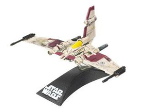 Clone Wars Titanium - V-19 Torrent Starfighter