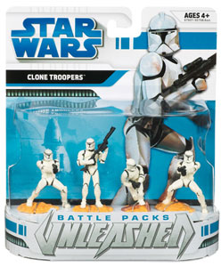 Star Wars Clone Wars Battle Packs Unleashed: Ultimate Battles - Clone Troopers
