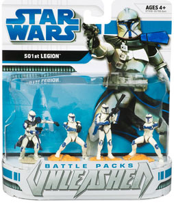 STAR WARS Clone Wars Battle Packs Unleashed: Ultimate Battles - 501st Legion