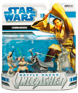 Star Wars Clone Wars Battle Packs Unleashed - Commanders