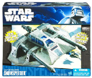 Clone Wars 2009 Black and Blue Box - Snow Speeder