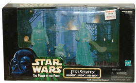 Jedi Spirits - Anakin, Yoda, and Obi-Wan
