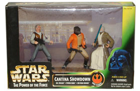 Cantina Showdown: Dr. Evazan, Ponda Baba, and Obi-Wan Kenobi