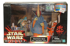 Watto Box: Watto, Graxol Kelvyyn, and Shakka