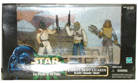 Jabba Skiff Guards Diorama