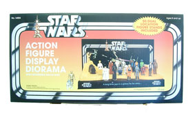 Star Wars Action Figure Display Diorama