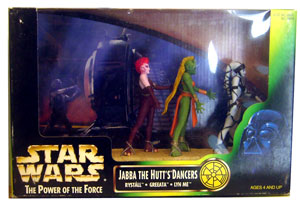 Jabba The Hutt Dancers Diorama