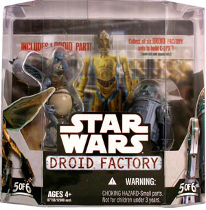 Droid Factory - Watto and R2-T0 2-Pack