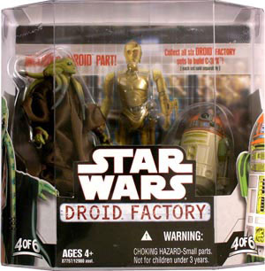 Droid Factory - Kit Fisto and R4-H5 2-Pack