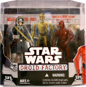Droid Factory - Han Solo and R-3P0 2-Pack