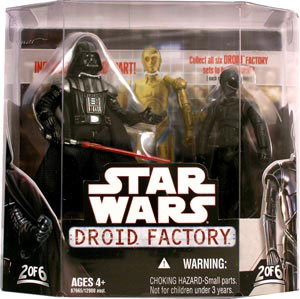 Droid Factory - Darth Vader and K-3PX 2-Pack