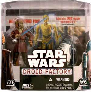 Droid Factory - Plo Koon and R4-F5 2-Pack