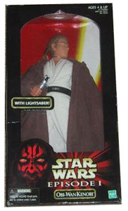 12-inch Episode I Obi-Wan Kenobi With Lightsaber