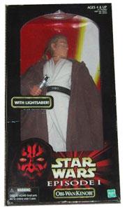 12-inch Episode I Obi-Wan Kenobi With Lightsaber