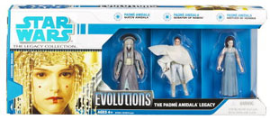 Evolution of Padme Amidala Legacy