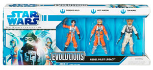 Evolution of The Rebellion Pilots Legacy - Dorovio Bold, Wes Janson and Ten Numb