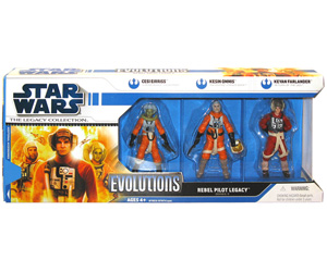 Legacy Collection - Evolution - Rebel Pilots Legacy [Cesi Eirriss, Kesin Ommis, and Keyan Farlander]