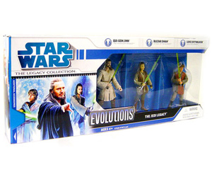 Legacy Collection - Evolution - The Jedi Legacy [Qui-Gon, Bultar Swan,and Jedi Academy Luke]