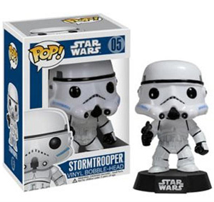 Funko Pop! Star Wars - 3.75 Vinyl Bobble-Head - Stormtrooper