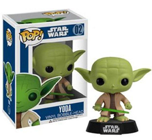 Funko Pop! Star Wars - 3.75 Vinyl Bobble-Head - Yoda