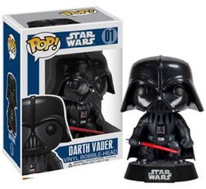 Funko Pop! Star Wars - 3.75 Vinyl Bobble-Head - Darth Vader
