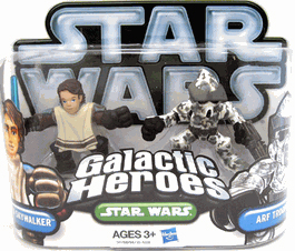 Galactic Heroes 2010 - Anakin Skywalker and ARF Trooper SILVER