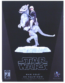 Gentle Giant - Han Solo Hoth on Tauntaun Statue