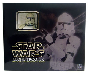 ROTS - White Clone Trooper Bust