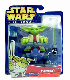 Jedi Force: Yoda with Swamp Stomper