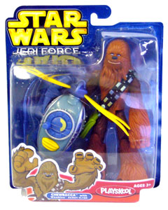 Jedi Force: Chewbacca with Wookie Scout Flyer
