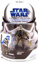 SW Legacy Collection - Build a Droid - Commander Gree GH-1