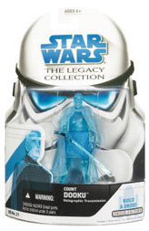 SW Legacy Collection - Build a Droid - Count Dooku Hologram