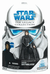 SW Legacy Collection - Build a Droid - Concept Art Anakin Skywalker