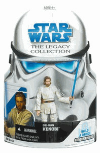 SW Legacy Collection - Build a Droid - EP II - Obi-Wan Kenobi long Hair