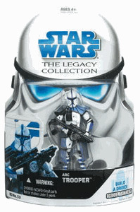 SW Legacy Collection - Build a Droid - Arc Trooper Blue