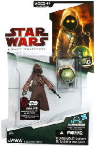 SW Legacy Collection - Build a Droid - Jawa with Security Droid