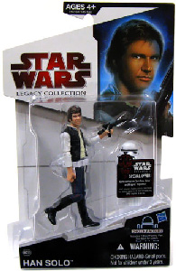 SW Legacy Collection - Build a Droid - Black Card - Han Solo with Stormtrooper Armor Parts