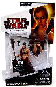 SW Legacy Collection - Build a Droid - Black Card - Princess Leia Slave