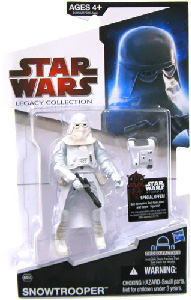 SW Legacy Collection - Build a Droid - Black Card - Snowtrooper