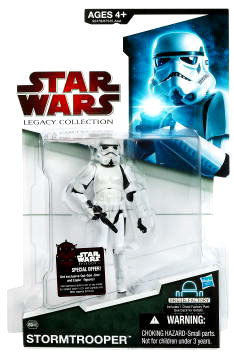 SW Legacy Collection - Build a Droid - Black Card - Stormtrooper